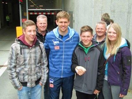Die Rennläufer des TV Daaden mit Thomas Kraft