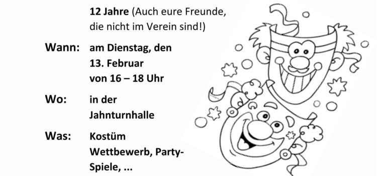 Kinder-Karnevals-Party 2018